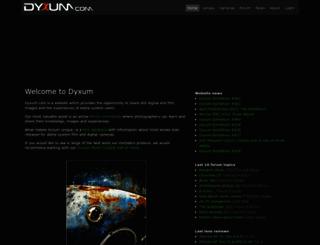 dyxum.com screenshot