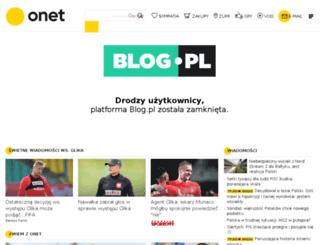 dzakanowski.blog.pl screenshot