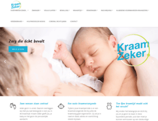 dzckraamzorg.nl screenshot
