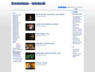 dzentelman.com screenshot