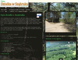 dzialka-szabruk.pl screenshot