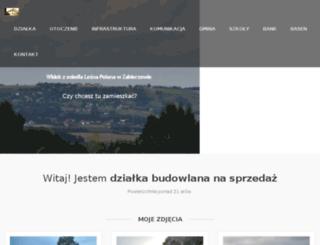 dzialkazabierzow.pl screenshot