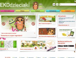 dzieci.mos.gov.pl screenshot