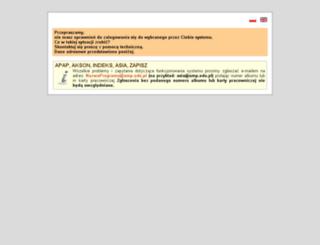 dziekanat.ump.edu.pl screenshot