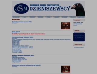 dzieniszewscy.pl screenshot