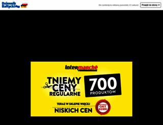 dziennikbaltycki.pl screenshot