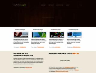 dzinecafe.com screenshot