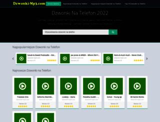 dzwonki-mp3.com screenshot