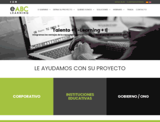 e-abclearning.com screenshot