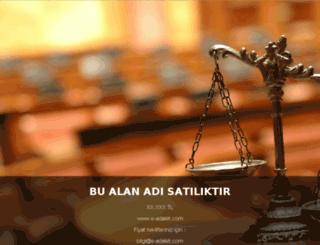e-adalet.com screenshot