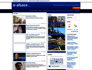 e-alsace.net screenshot