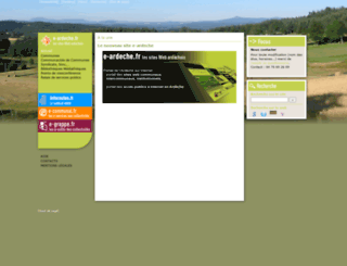 e-ardeche.fr screenshot