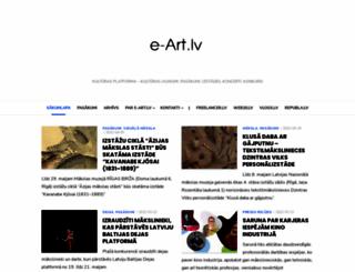 e-art.lv screenshot
