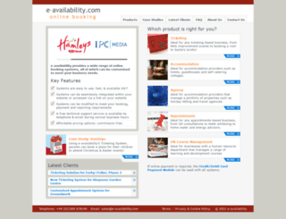 e-availability.com screenshot