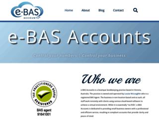 e-bas.com.au screenshot
