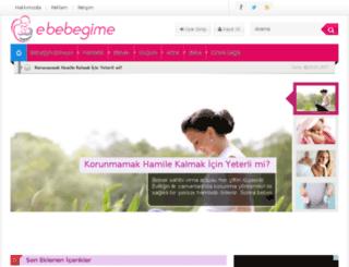 e-bebegime.com screenshot