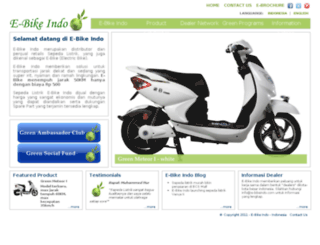 e-bikeindo.com screenshot