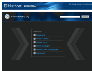 e-blackboard.org screenshot