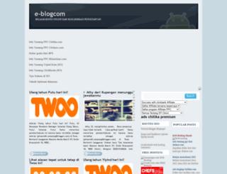 e-blogcom.blogspot.com screenshot