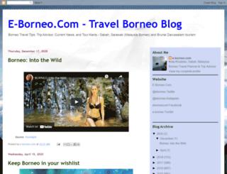 e-borneo.blogspot.com screenshot