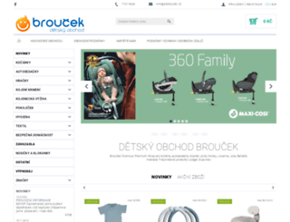 e-broucek.cz screenshot