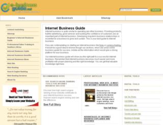 e-business-guide.net screenshot