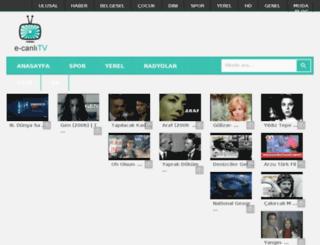 e-canlitv.net screenshot