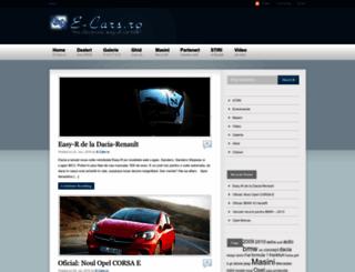 e-cars.ro screenshot