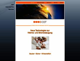 e-cat-deutschland.de screenshot