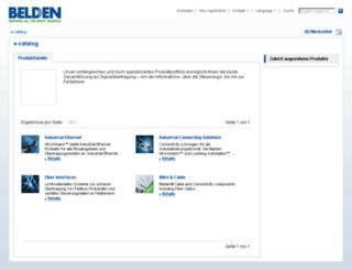 e-catalog.hirschmann.com screenshot