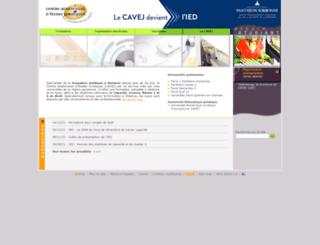e-cavej.org screenshot