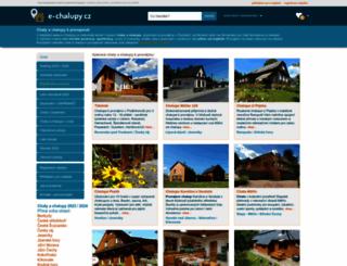 e-chalupy.cz screenshot