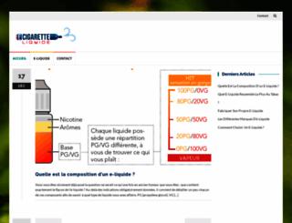 e-cigarette-liquide.com screenshot