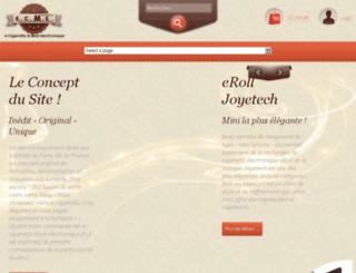 e-cigarette-mod-electronique.fr screenshot