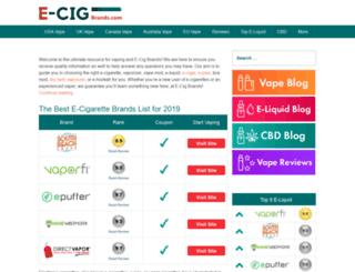 e-cigs.co.kr screenshot