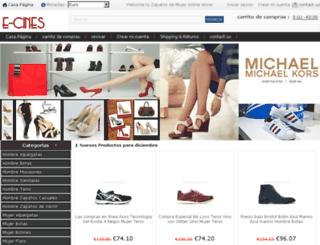 e-cines.es screenshot