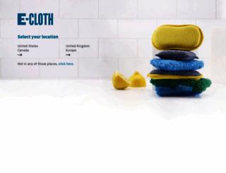 e-cloth.com screenshot