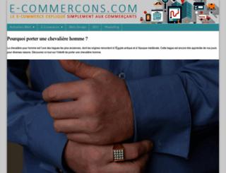 e-commercons.com screenshot