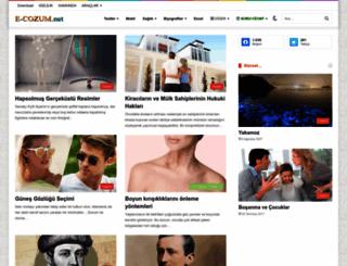 e-cozum.net screenshot