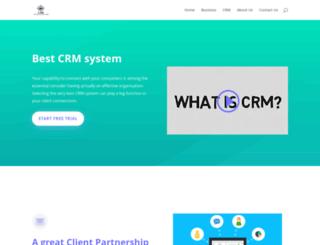 e-crm.co.uk screenshot