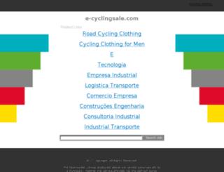 e-cyclingsale.com screenshot