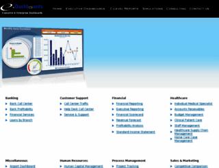 e-dashboards.com screenshot