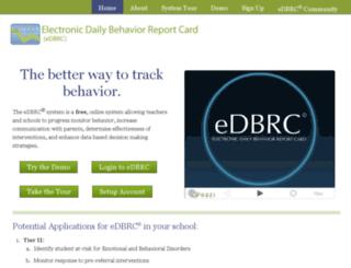 e-dbrc.tamu.edu screenshot