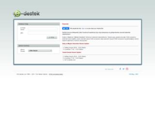 e-destek.com screenshot