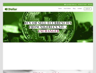 e-dollar.ng screenshot
