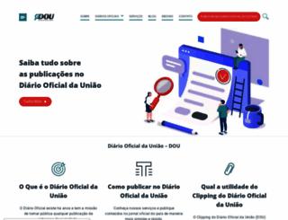 e-dou.com.br screenshot