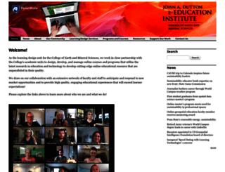 e-education.psu.edu screenshot