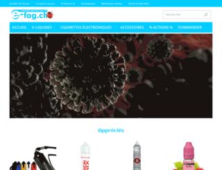 e-fag.ch screenshot