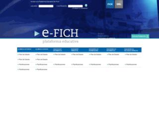 e-fich.unl.edu.ar screenshot