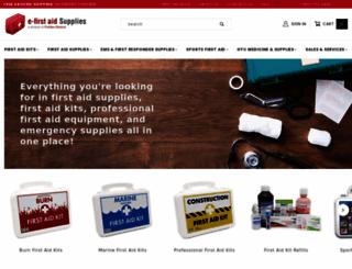 e-firstaidsupplies.com screenshot